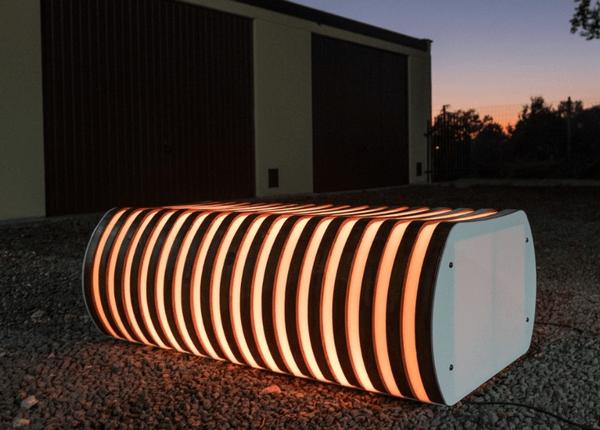 В Польше изобрели скамейки, которые очищают воздух