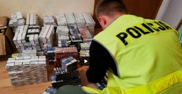 В Польше арестовали украинцев за не законное производство сигарет