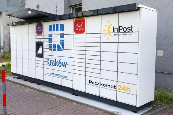 В Кракове появились новые почтоматы InPost Urząd24