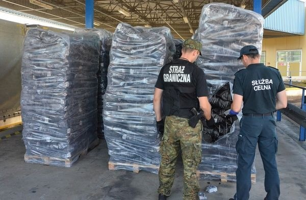 Пограничниками Польши была выявлена контрабанда белорусских сигарет