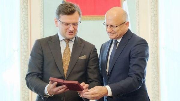 Президент Люблина получил орден «За заслуги» от президента Украины