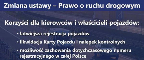 Сейм принял законопроект об изменениях в Законе о дорожном движении в Польше