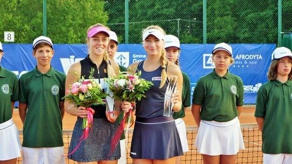 Украинка Анастасия Шошина стала чемпионкой Польши по теннису в парном разряде