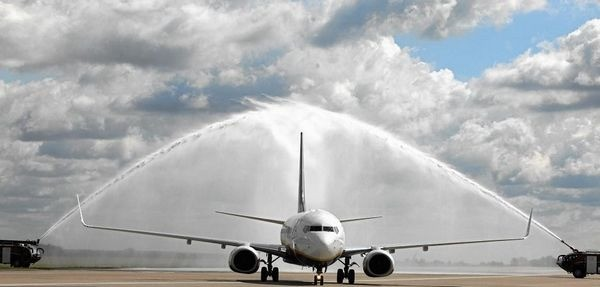 Ryanair в Модлине объявляет о расширении полетов на Восток