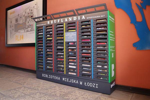 В Лодзи открылась самообслуживаемая библиотека