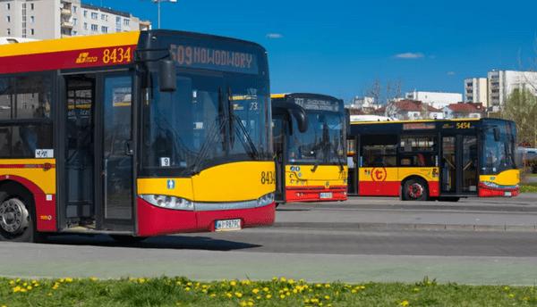У водителя городского автобуса Варшавы было более двух промилле алкоголя