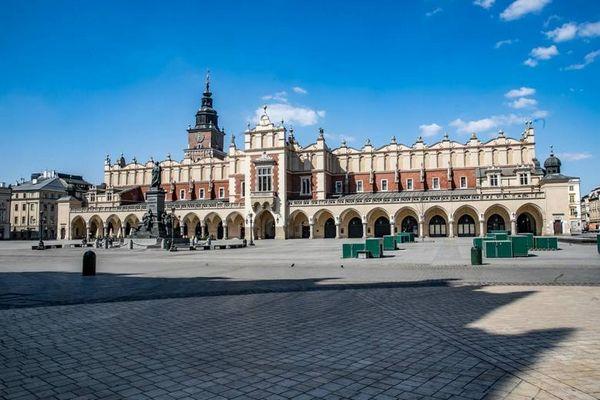 Краков в предупреждающем списке Министерства Здравоохранения Польши