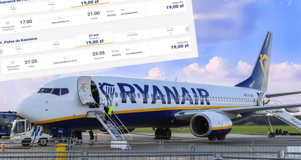 Ryanair объявил о самой крупной распродаже в 2020 году. Билеты по 19 злотых