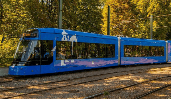 Нападение на водителя трамвая в Кракове
