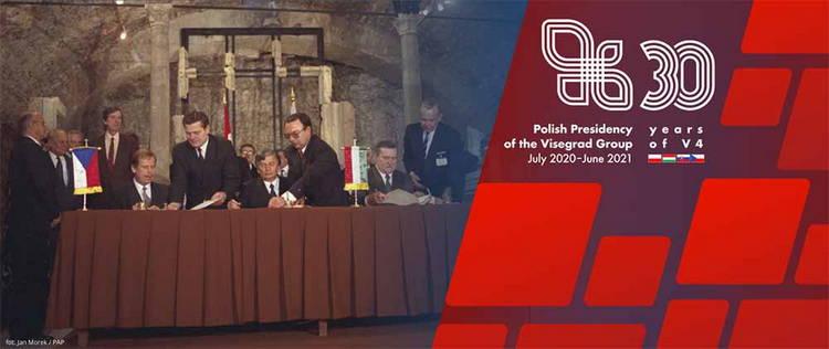 30-я годовщина основания Вышеградской группы