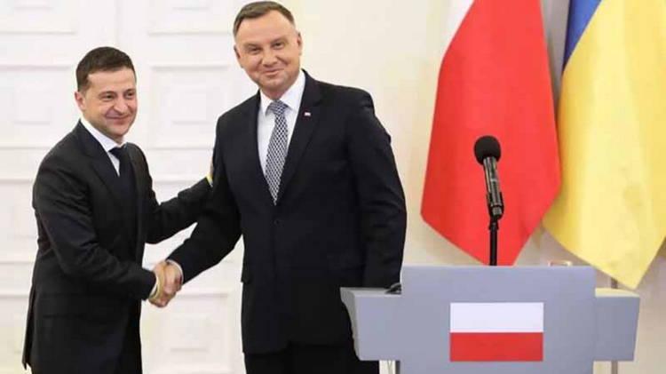 Президенты Украины и Польши обговорили проекты между странами