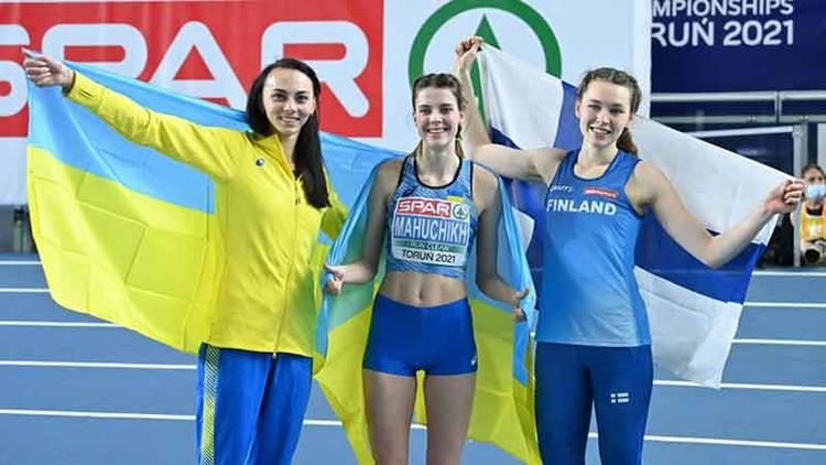 Украинки заняли первых два места по легкой атлетике на чемпионате Европы в Польше