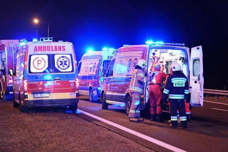 Украинский автобус попал в ДТП в Польше, шестеро погибших