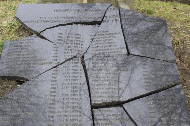 Польша возобновила только один из 10 украинских памятников, разрушенных с 2014 года