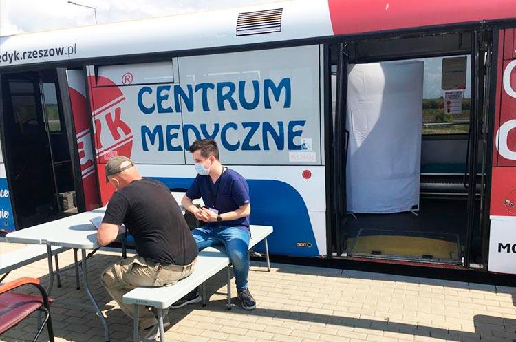 На польско-украинской границе начали вакцинировать заробитчан