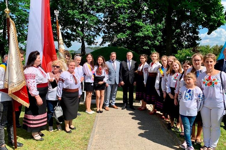 На севере Польши почтили память воинов УНР