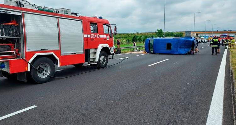 В Польше произошло ДТП, среди пострадавших есть украинцы