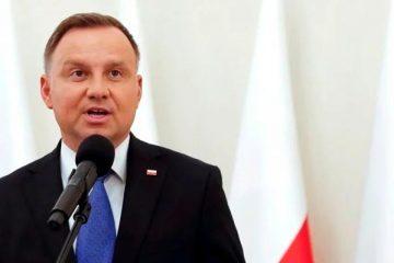 """Дуда в годовщину Волынской трагедии призвал к хорошим отношениям с Украиной """"на основе правды"""""""