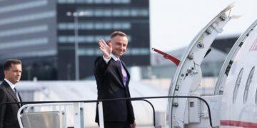 Президент Польши Анджей Дуда прилетел в Украину