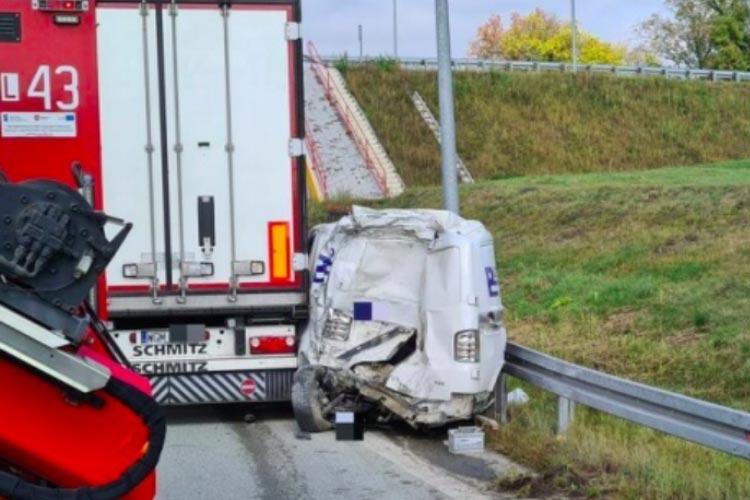 В Польше во время нанесения дорожной разметки погиб 23-летний украинец