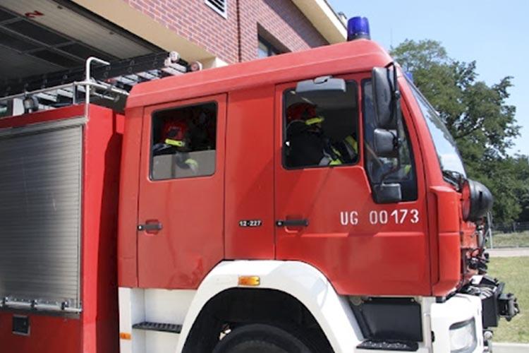 В Польше загорелся автобус с тремя десятками украинцев